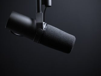 Third Culture Africa 4 Podcast History Facts you need to know a black speaker pending in a room with black background